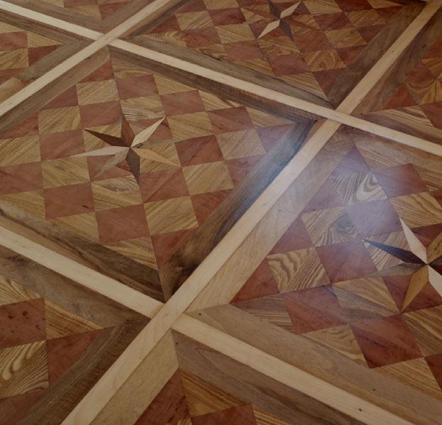 Mosaikboden von Parkett Madeja